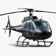 Eurocopter AS 350 Ecureuil 3d model
