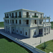 Neo-Classical Palace 3d model