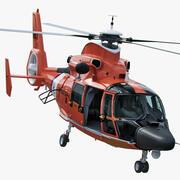 USCG MH-65イルカヘリコプター 3d model