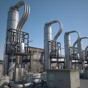 Unidad de refinería 3 modelo 3d