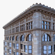 Classic City Building 3d model