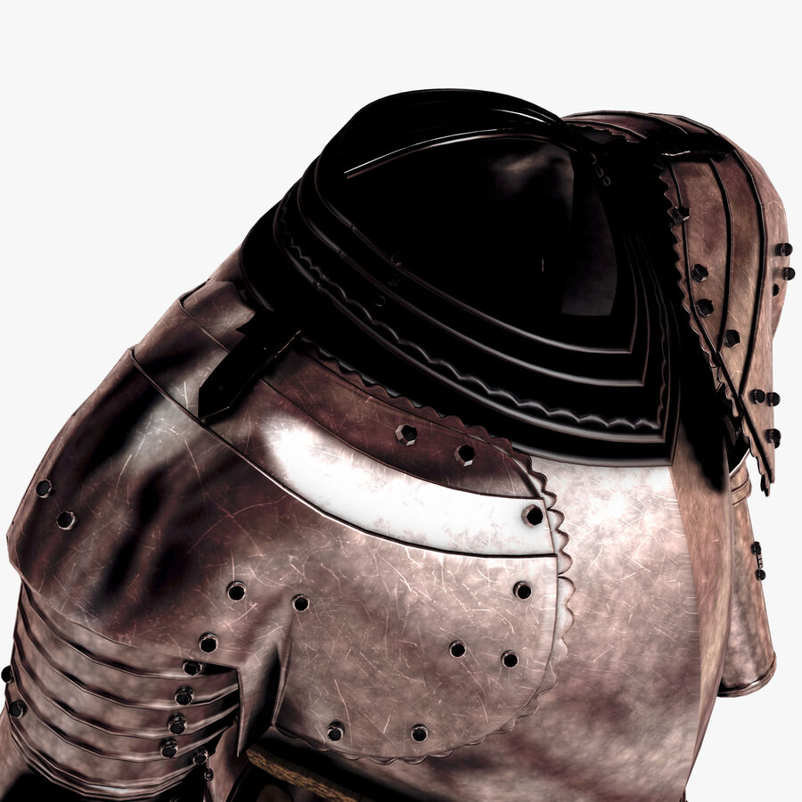 Knight Armor royalty-free 3d model - Preview no. 5