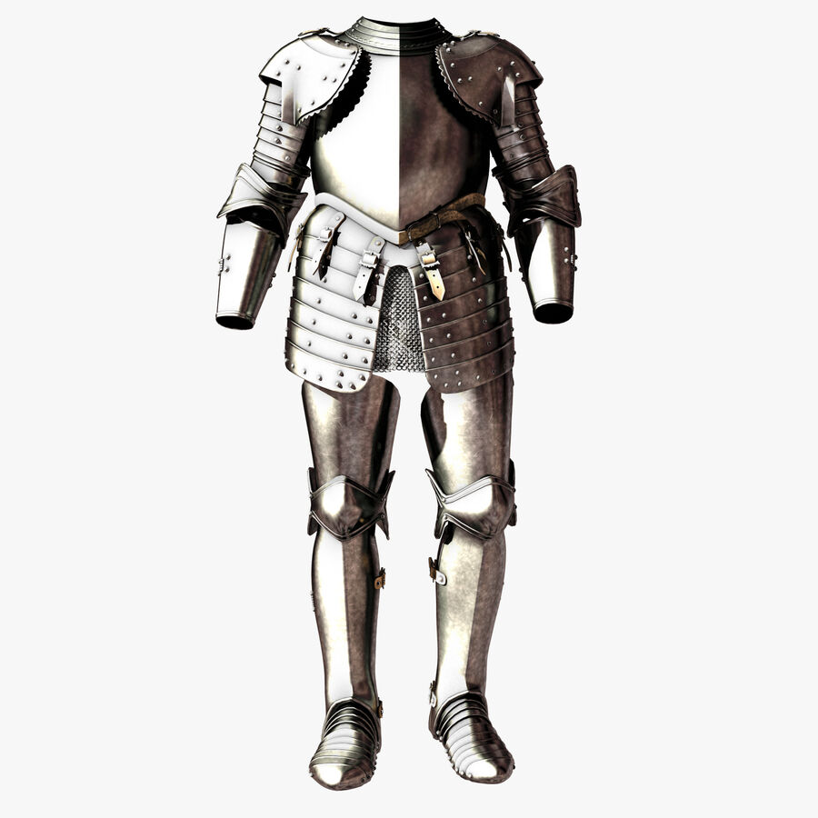 Knight Armor royalty-free 3d model - Preview no. 1
