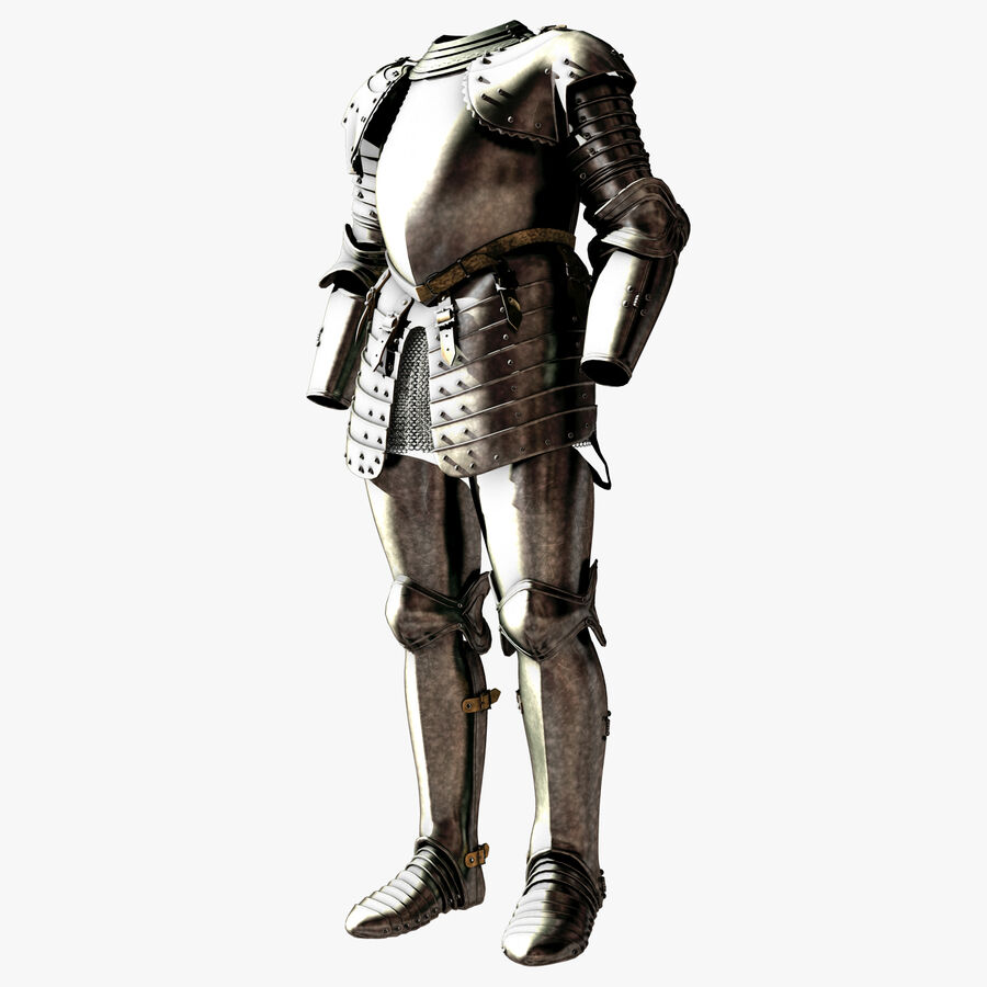 Knight Armor royalty-free 3d model - Preview no. 2
