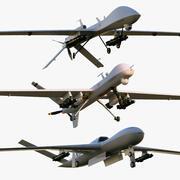General Atomics Drones 3d model