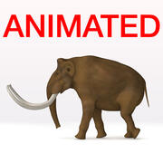 Mamute Anim 3d model