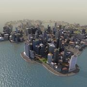 Spel Race City 3d model
