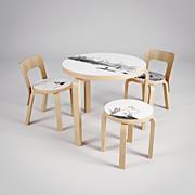 Artek Moomin collection 3d model