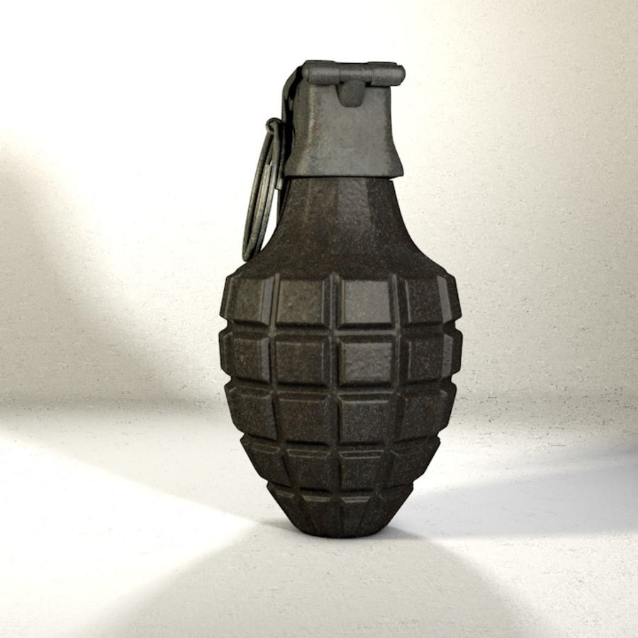 Grenade Pack royalty-free 3d model - Preview no. 13
