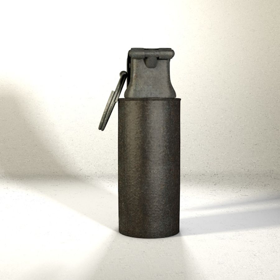 Grenade Pack royalty-free 3d model - Preview no. 10
