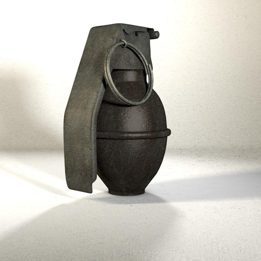 Grenade Pack royalty-free 3d model - Preview no. 8