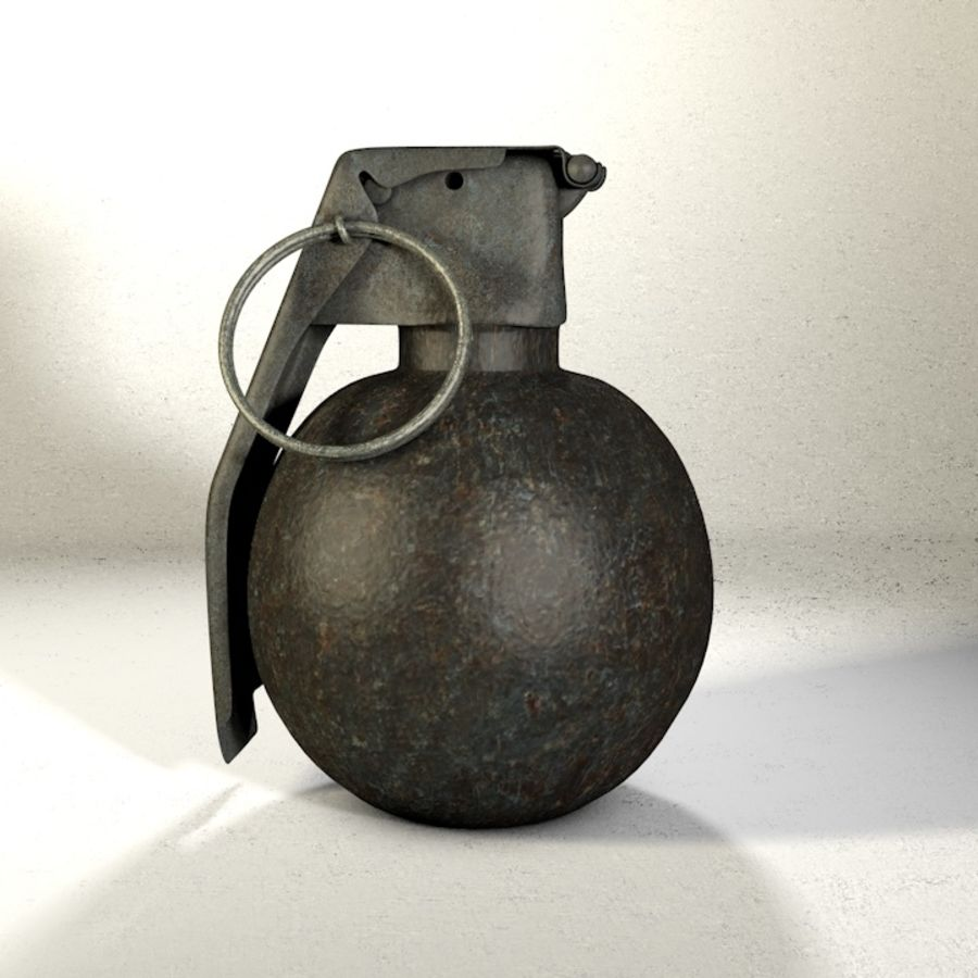 Grenade Pack royalty-free 3d model - Preview no. 2