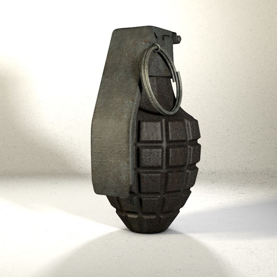 Grenade Pack royalty-free 3d model - Preview no. 14