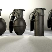 手榴弹包 3d model