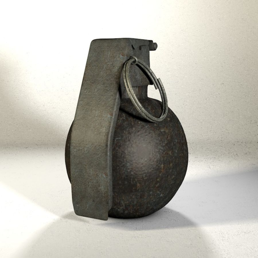 Grenade Pack royalty-free 3d model - Preview no. 4