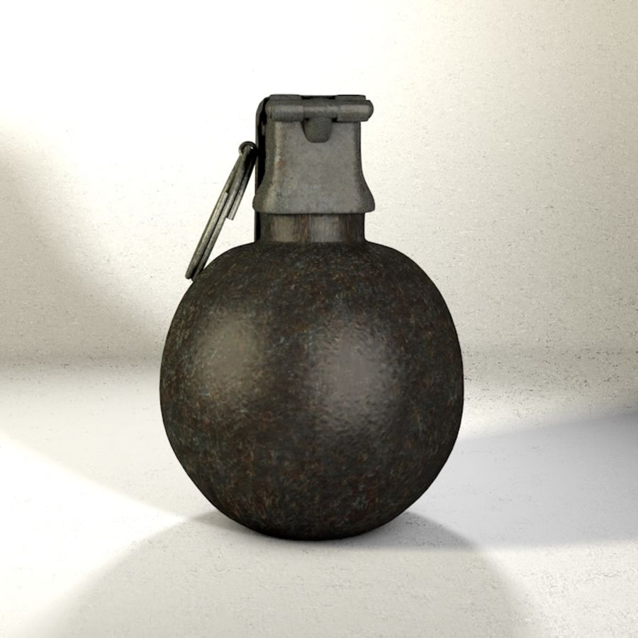 Grenade Pack royalty-free 3d model - Preview no. 3