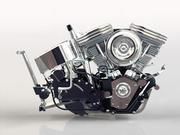 V2 Engine 3d model