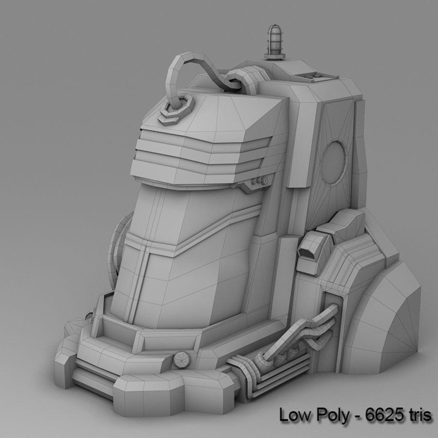 Sci-fi Stasis Pod prop 3D Model $15 -  unknown  max  fbx