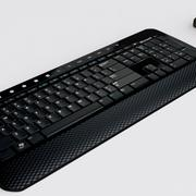 Microsoft Wireless Keyboard and Mouse 3d model