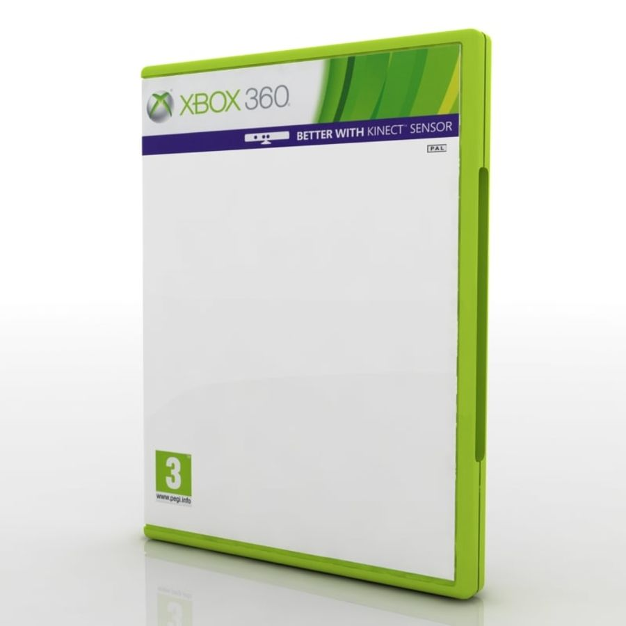PC/Ps3/Xbox - Game box Case royalty-free 3d model - Preview no. 5