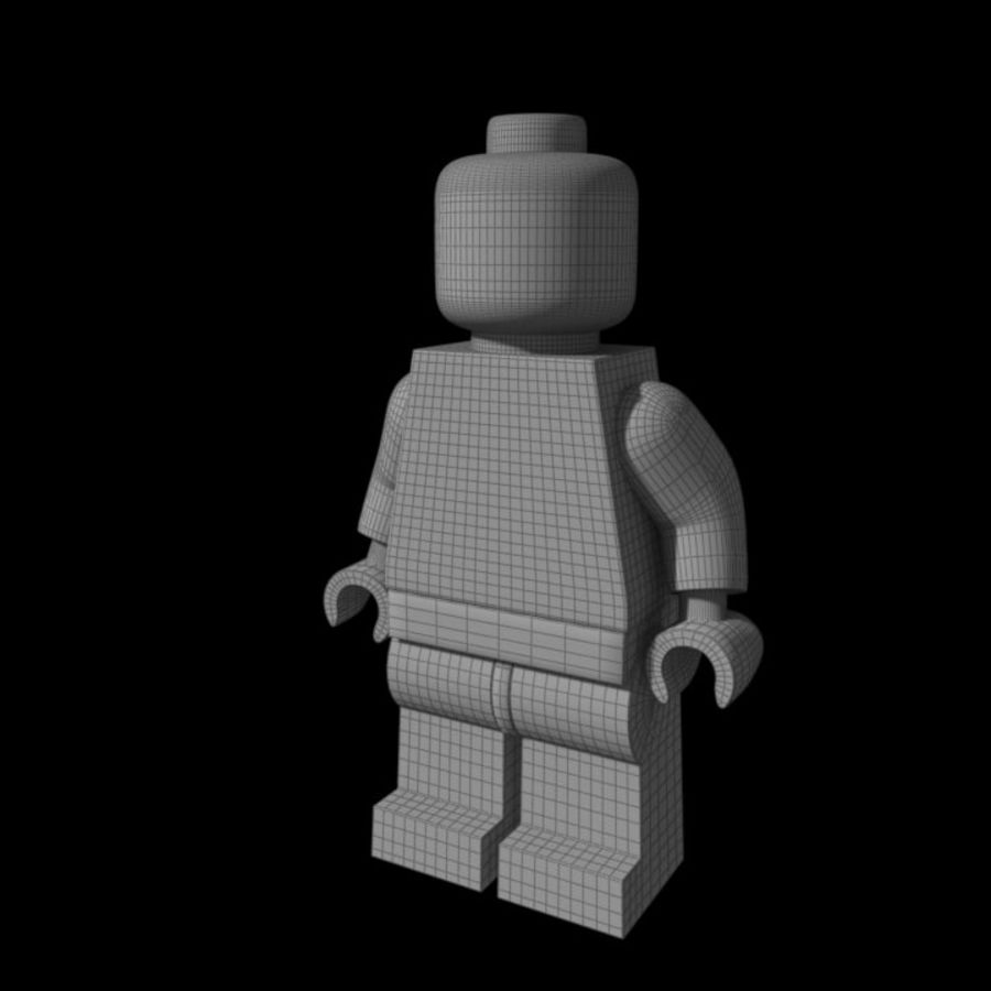 Lego Rigged Minifigure royalty-free 3d model - Preview no. 7