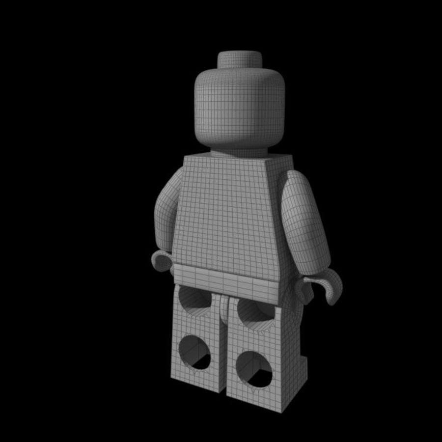Lego Rigged Minifigure royalty-free 3d model - Preview no. 8