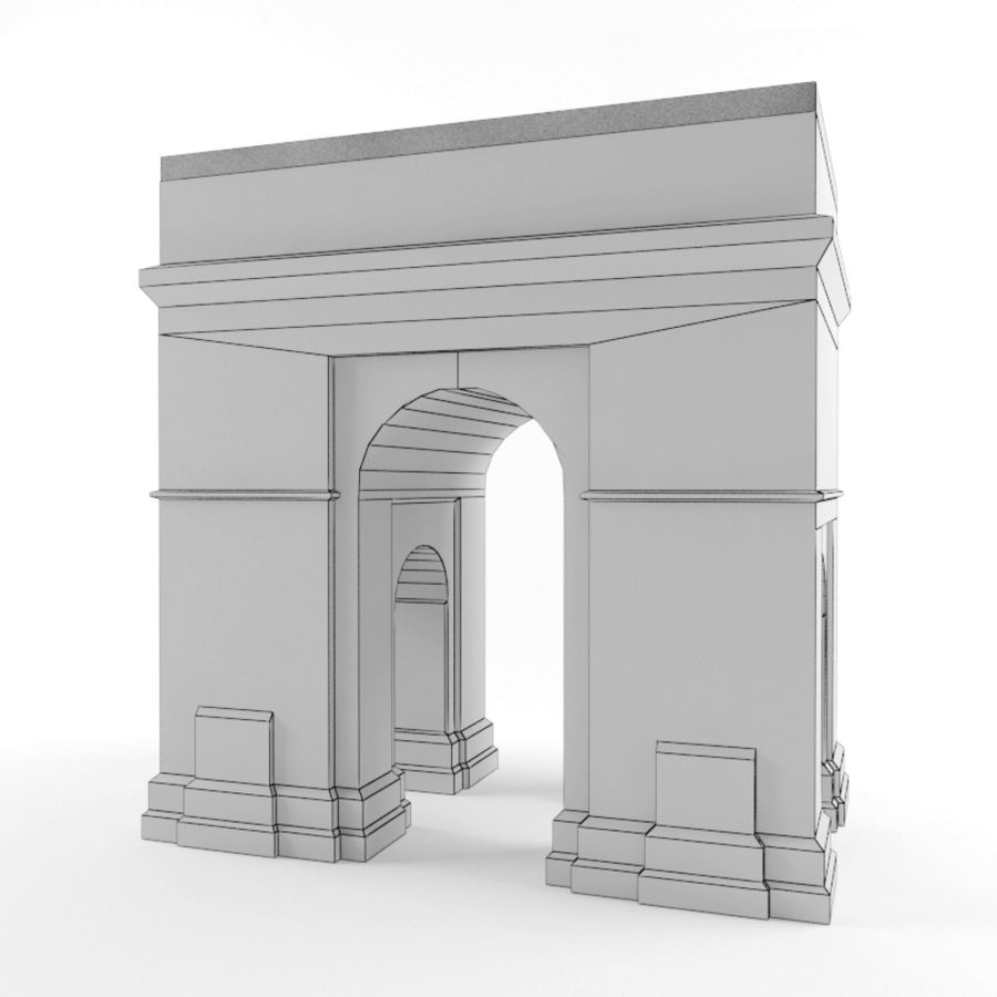 Triumphal arch royalty-free 3d model - Preview no. 5