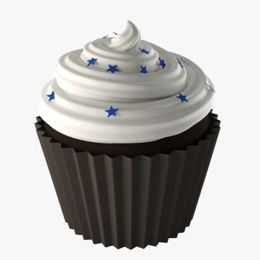 Cup Cake 02 royalty-free 3d model - Preview no. 1