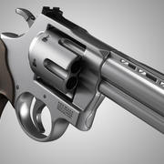 Rewolwer S&W 3d model