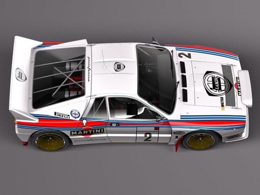 Lancia 037 1982-1983 royalty-free 3d model - Preview no. 8