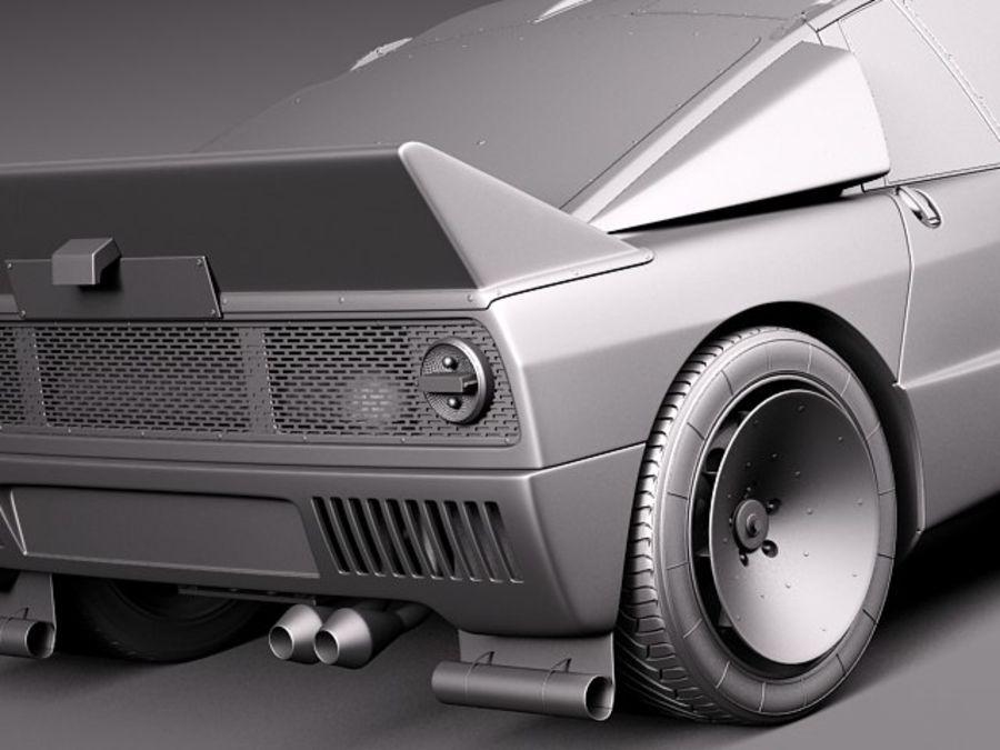 Lancia 037 1982-1983 royalty-free 3d model - Preview no. 12