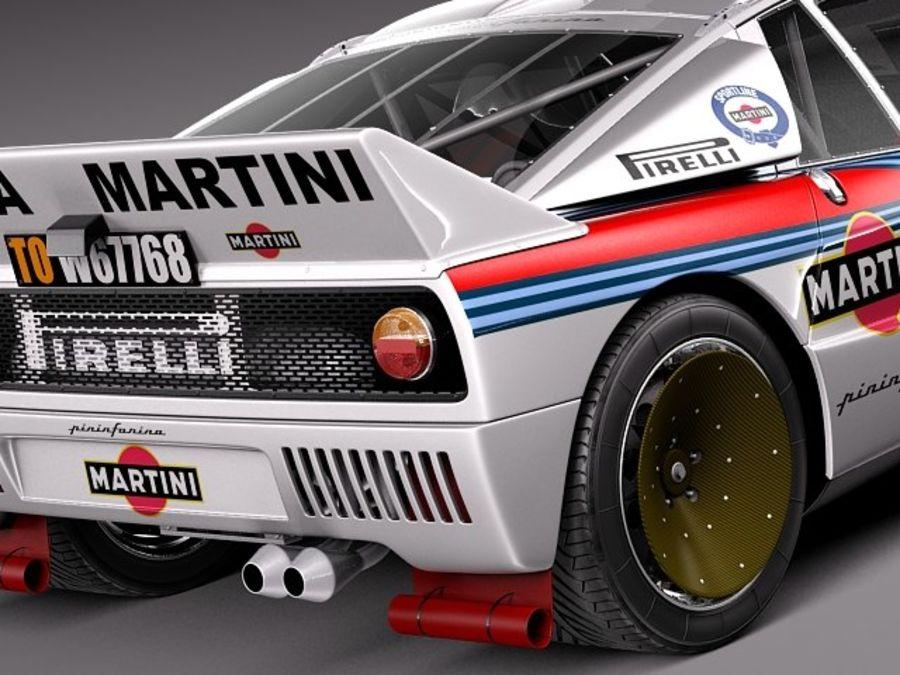 Lancia 037 1982-1983 royalty-free 3d model - Preview no. 4