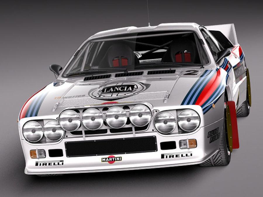 Lancia 037 1982-1983 royalty-free 3d model - Preview no. 2