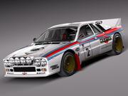 Lancia 037 1982-1983 3d model