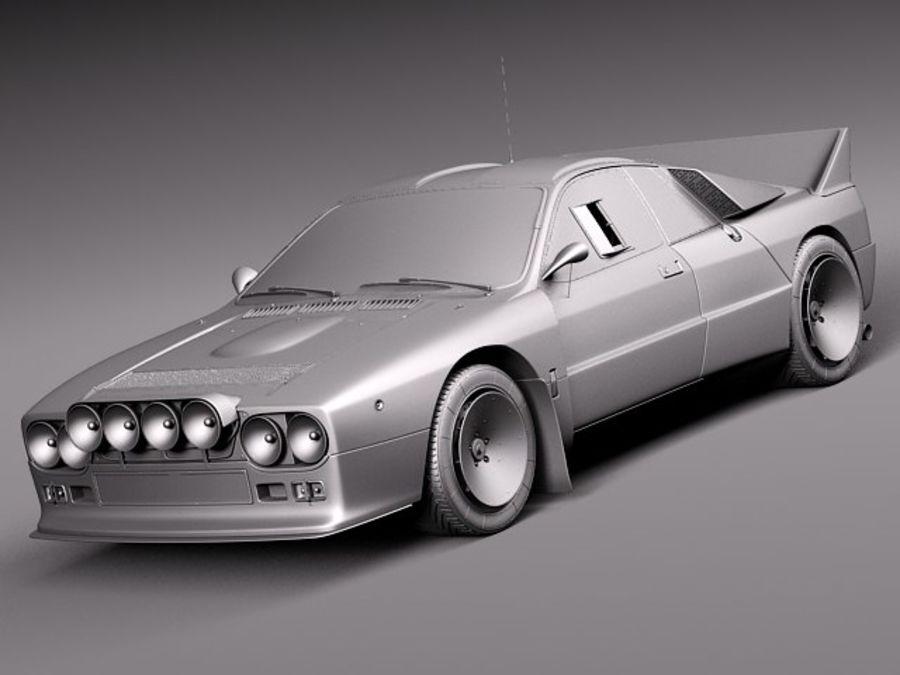 Lancia 037 1982-1983 royalty-free 3d model - Preview no. 10