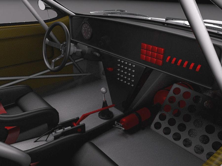 Lancia 037 1982-1983 royalty-free 3d model - Preview no. 9