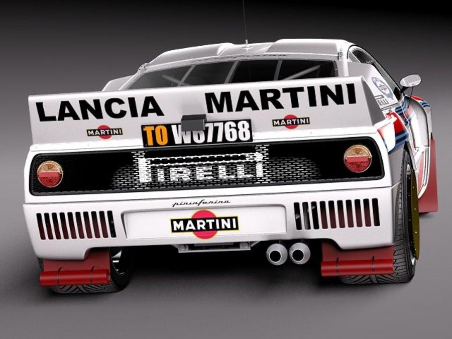 Lancia 037 1982-1983 royalty-free 3d model - Preview no. 6