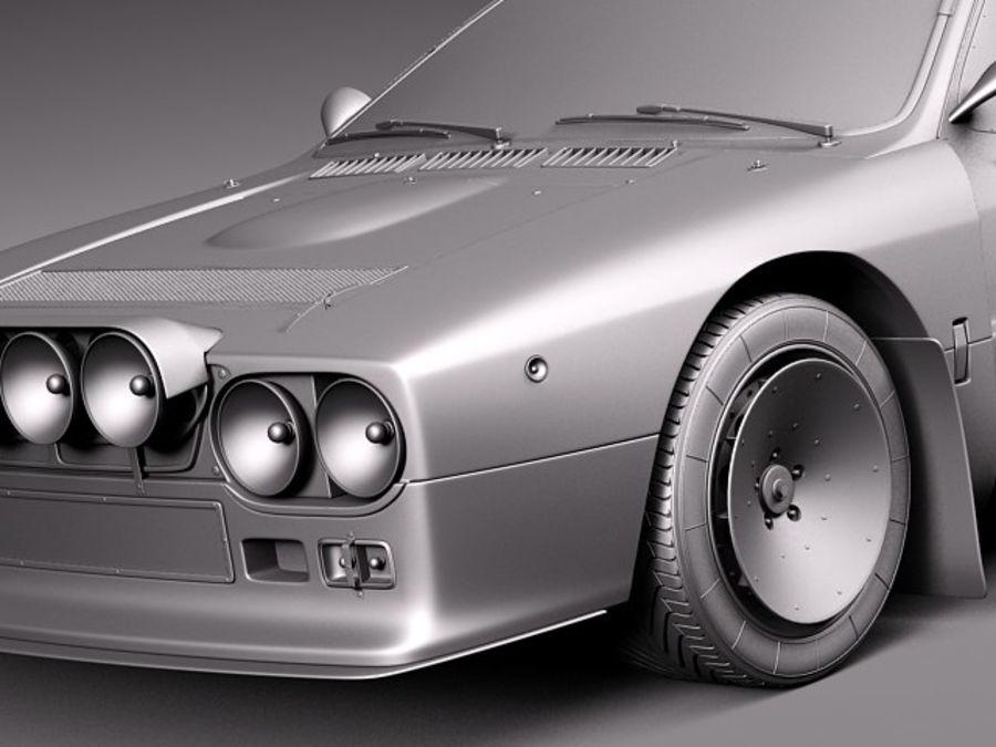 Lancia 037 1982-1983 royalty-free 3d model - Preview no. 11