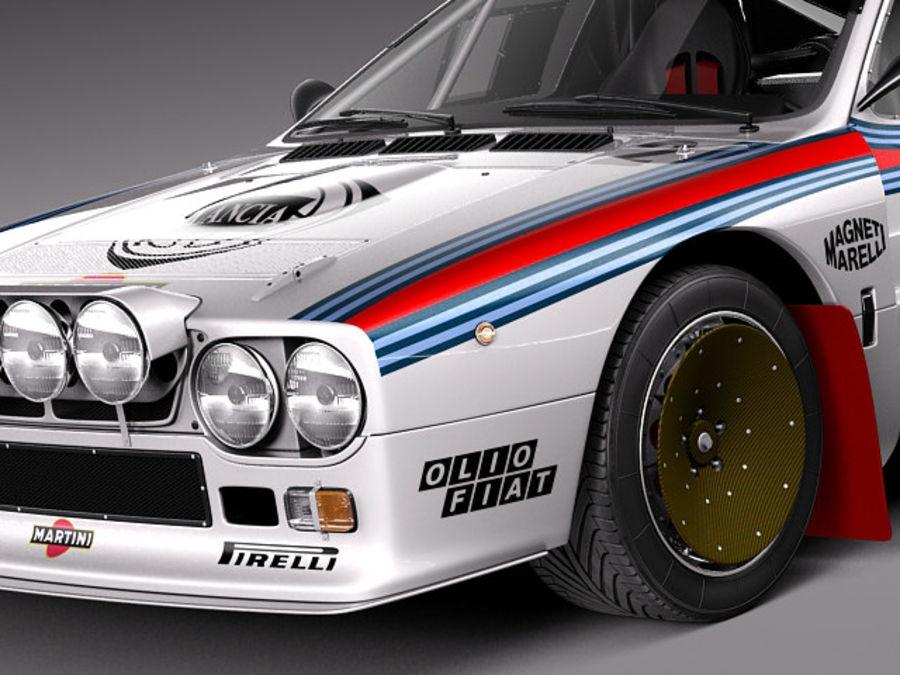 Lancia 037 1982-1983 royalty-free 3d model - Preview no. 3