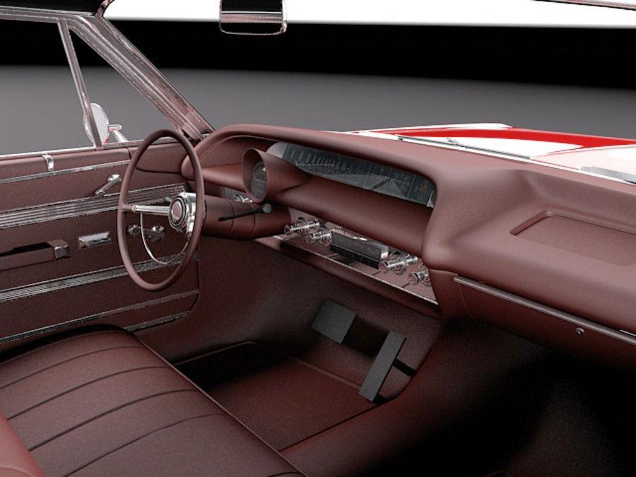 Шевроле Импала Купе 1964 royalty-free 3d model - Preview no. 9