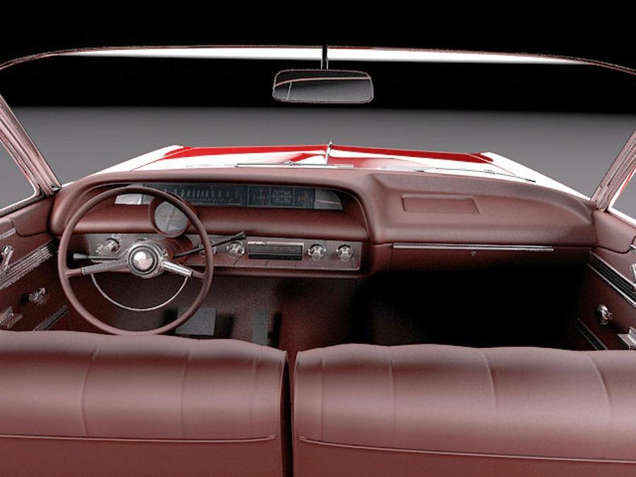 Шевроле Импала Купе 1964 royalty-free 3d model - Preview no. 10