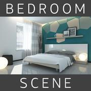 침실 3d model