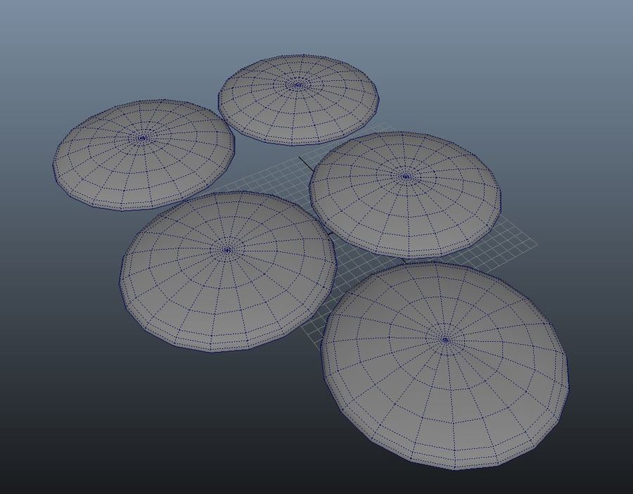 Biscuits royalty-free 3d model - Preview no. 3