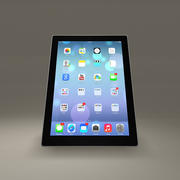 Ipad Touch Screen Tablet 3d model