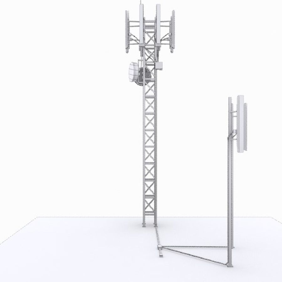 Basisstation M-01 royalty-free 3d model - Preview no. 4