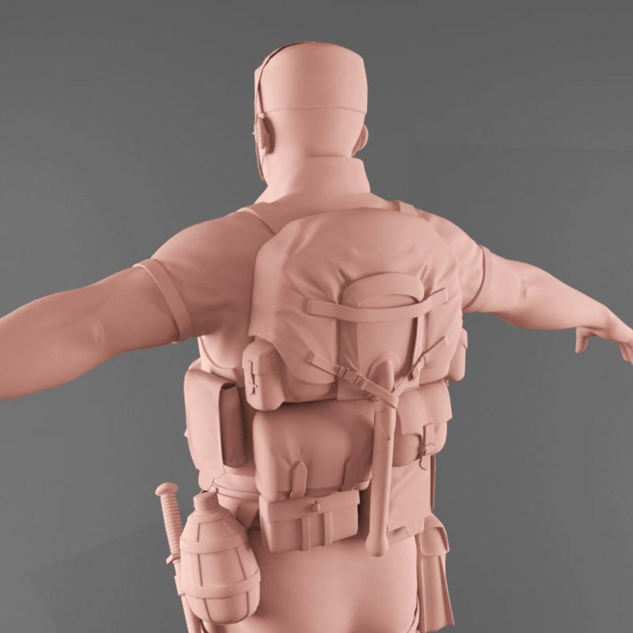 マンエンジニア royalty-free 3d model - Preview no. 12
