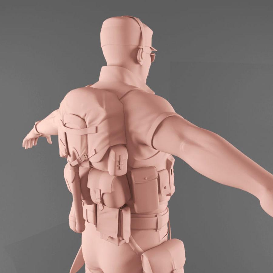 マンエンジニア royalty-free 3d model - Preview no. 14