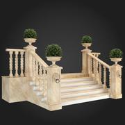 Escadaria 012 3d model