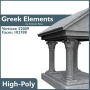 Greek Elements 3d model