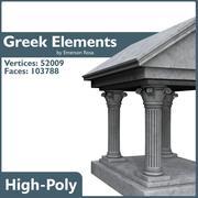Elementi greci 3d model
